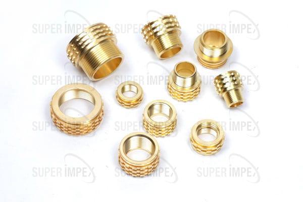 Brass Pipe Insert, PPR/CPVC Brass Insert Manufacturer, Supplier and Exporter in Jamnagar, Gujarat, India